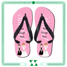 party wear rubber purple wedding sandals