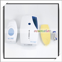 J513E Intelligent Wireless and Greeting Warning Novelty Doorbell for Apartments White