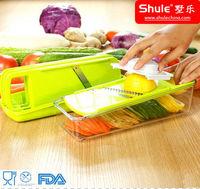 Shule Multi-Function Plastic Vegetable Chopper and Slicer Sets