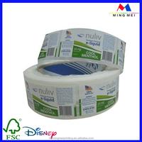 Wholesale custom self adhesive e liquid labels, label for plastic bottles, bottle roll/sheet label