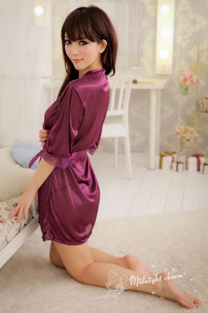 Сексуальная ночная сорочка + g SL203