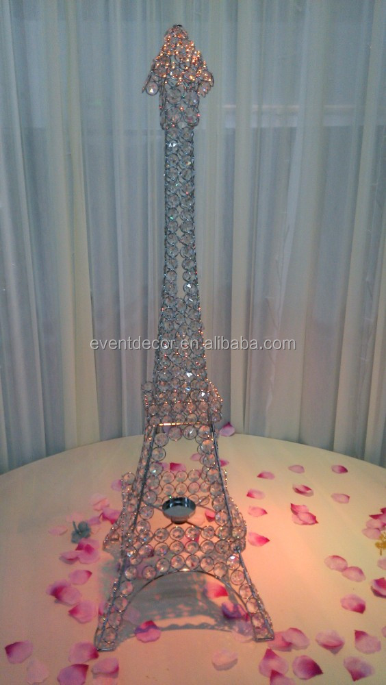 New Product Eiffel Tower Centerpieces For Wedding Table Decoration
