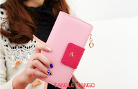 lady wallet long han edition color screens zipper more fashionable lovely purse wallet