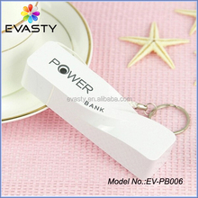 Evasty multi colored battery power bank portable battery charger for universal use