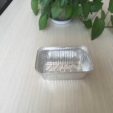 China manufacture airline fast food take away aluminum foil containers