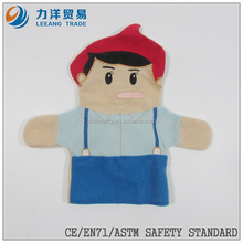 Medium size plush hand puppets, Customised toys,CE/ASTM safety stardard
