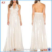 Classic Style Online Shopping Ladies Western Dresses Designs Cocktail Party Dress Women Halter Fancy Dress