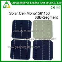 156x156 monocrystalline solar cells for sale