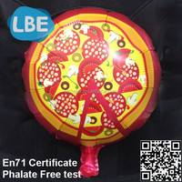 customised foil balloons pizza promotion gifts