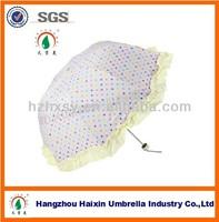 New Products Three Cute Fold Special Shape Umbrella