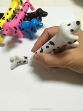 wholesale new design dot dog ball pen& dog shape pen& promotion pen CH-6771