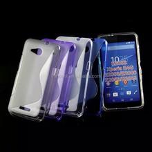 S Line Soft TPU Gel Case Back Cover For Sony Xperia E4G E2003 E2006 E2033 E2043 E2053