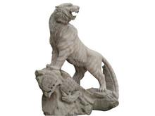 Hand Carved Garden Outdoor Decorative Stone Granite Tiger Statue
