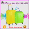 cheap price stock luggage bag / spinner personalized luggage sets