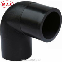 90 Degree Bend Plastic Elbow Fittings for HDPE Water Pipe