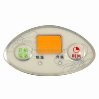 custom metal dome membrane switch for machine