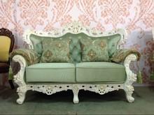 2015 New Design teak Solid Wood Frame Royal Sofa