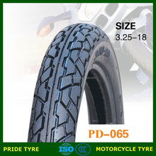 Hot sale size 3.25-18 china motorcycle tyre
