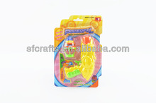 Flashing Spin Top Gun Bounce Top Gun,Plastic Spinning top Gun with flashing light,magic top,flashing spinning top Gun toys