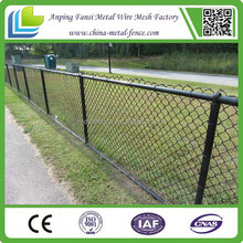 PVC coated top and bottom rail securifor chainwire basketball/tennis fence alibaba.com