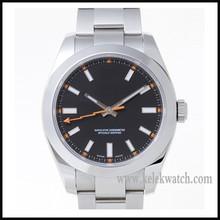 men luxury full steel analog display automatic watch self wind jaragar military mechanical watch mens luxury watches