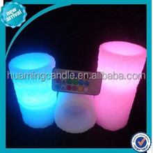 color led candle light with swirling glitter wholesale