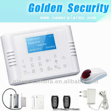 Beauty and Cheap Multi-Language& alarm priority beauty and cheap GSM+PSTN wireless house burglar proof alarm system