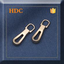 Hot selling gold new design shinning metal zipper puller