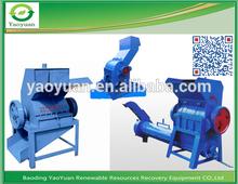 durable de reciclaje de pet de la máquina