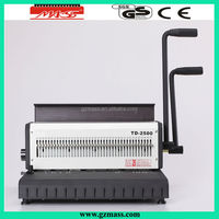 big sale binding wire making machine used with wire o binder(TD-1500R)