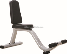 Oval tube Utility Bench fitness bench weight bench