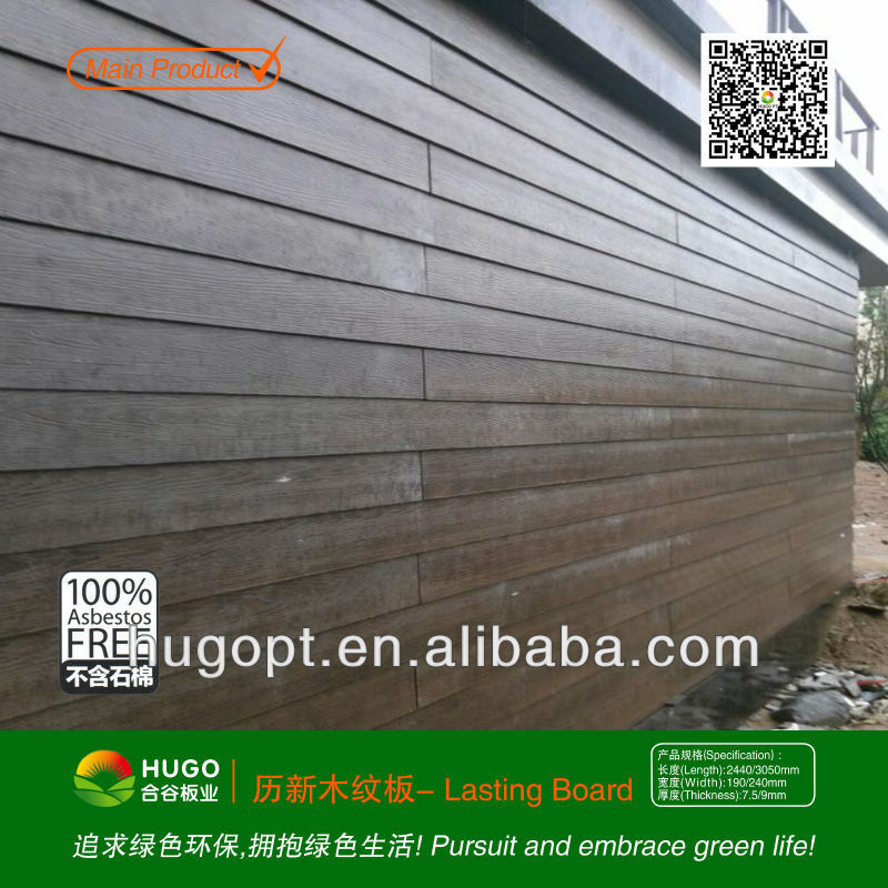 Fiber cement wall cladding board for exterior wall for Exterior beauty quotes