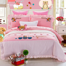 kids bed set with kids bed sheet and kids bed cover