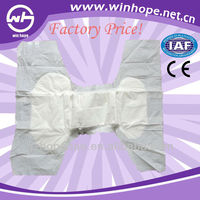 Soft touch comfort !! big adult diapers with Japan SAP