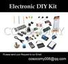 Electronic DIY kit with 16x2 LCD BreadBoard stepper motor sensor