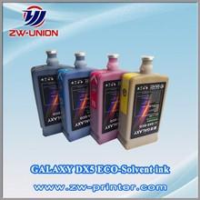 Top sale price!! roland mimaki mutoh printer ink for dx4 dx5 head ink