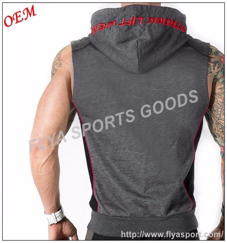black sleeveless half zip hoodies  (2).jpg