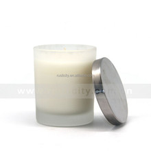 Aroma fragrance factory price top selling candles in glass with lid