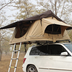 Easy to use Outdoor 4x4 windows from pvc car roof top tent with Happy King