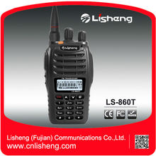 RoHS CE Approval 5W commercial LS-860T Cheap ham walkie talkie