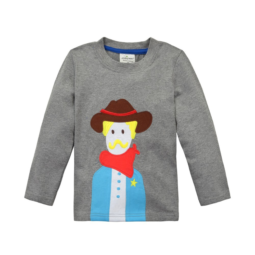 Cotton bulk kids clothing wholesale long sleeve t shirt for Wholesale children s t shirts