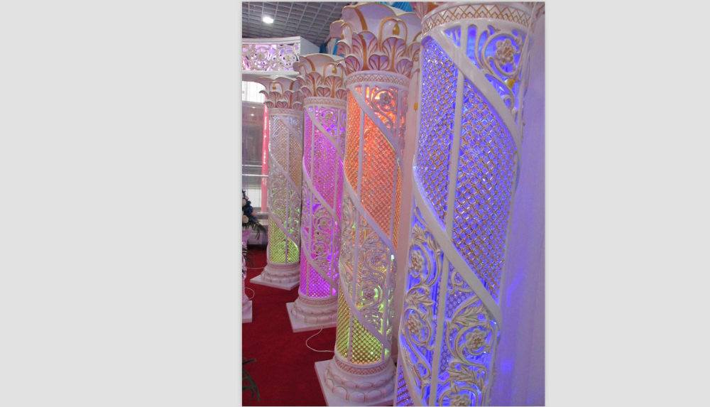 Decorative Lighted Columns For Weddings Decorative Lighted Ask Home Design