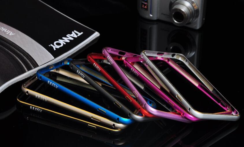 2016 Ultra Thin Slim Full Aluminum bumper case Metal case for iPhone 6s plus