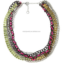 WLXL-1023 Small Order Factory Wholesale Yiwu Hot-selling Fashion China Folk Handicrafts Vintage Necklace Display