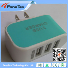 multifunction fast 5V 2A 4 ports portable travel 4 usb wall charger