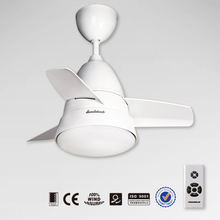 26YFT-7049W Mini Modern Decorative Ceiling Fan with light