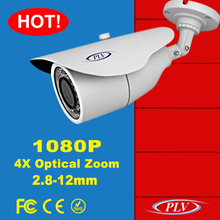 motorized zoom lend 30m ir real time 1080p poe ip camera