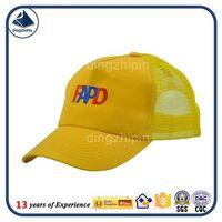 masonic caps hats custom trucker 5 panel yellow mesh hat