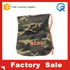 210D Simple Printing Polyester Drawstring Bag Factory