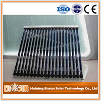 Practical factory made Concentrated Vacuum Tube Solar Collector